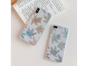 3 USLION Glitter Gold Leaf Transparent Case For iPhone 11 Pro X XS Max XR 8 7 (1)