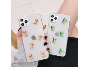 4 Bling Glitter Case For iPhone 11 Pro Max X XR XS Max 3D Cute Cartoon Shiny (1)