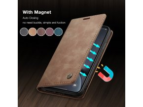 1 CaseMe Retro Leather Purse Case For iPhone 11 Pro X XR XS Max Magnetic Wallet Card (1)