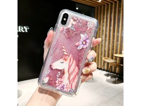 5 Anti Knock Dynamic Quicksand Case For iPhone 11 Pro X XR XS MAX App Icon Glitter
