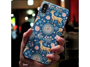 9 Eqvvol Cute 3D Emboss Cartoon Patterned Phone Case For iphone X 8 7 6 6S Plus