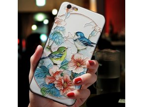3 3D Emboss Flower Case For Samsung Galaxy A51 A50 A21s A31 A41 A30 A70 A71 S7