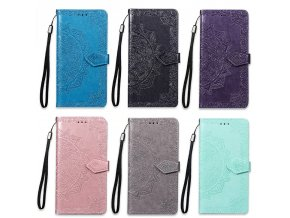 d floral wallet case for samsung galaxy main 5