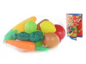 Jídlo v síťce 11 ks - ovoce a zelenina
