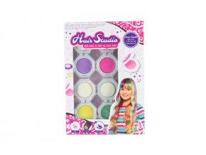 Dětské křídy na vlasy - 4 barvy