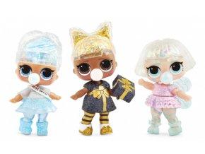 LOL Surprise zimní třpytková panenka