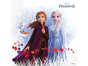 Dětské papírové party ubrousky Frozen 2 20 ks
