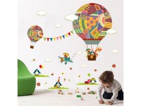 Samolepka Horkovzdušný balón