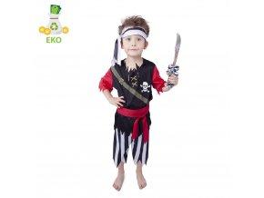 Klučičí kostým Pirát s šátkem EKO