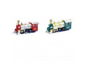 Dětská lokomotiva narážející a kouřící