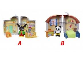 Dětská hrací sada Bing s domečkem