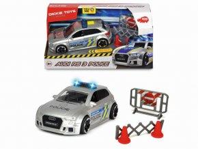 Audi RS3 policie s příslušenstvím, česká verze