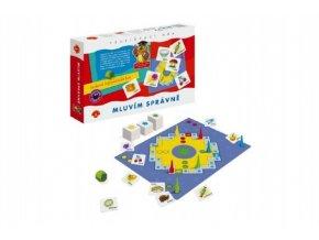 mluvim spravne spolecenska hra v krabici 29x19x4cm