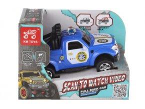 Dětské natahovací terénní auto policie