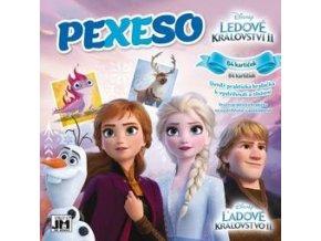 Dětské pexeso v sešitu Frozen 2