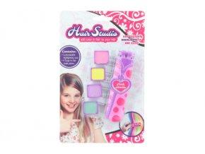 Dětské křídy na vlasy s aplikátorem, 4 barvy
