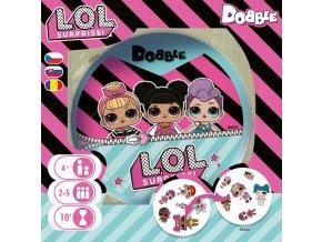 Dětská hra Dobble, L.O.L. Surprise