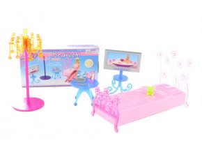 Glorie ložnice s televizí