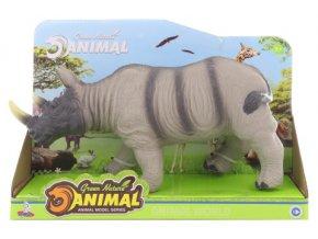 Nosorožec na baterie se zvukem