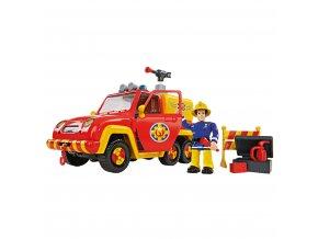 Dětské hasičské auto Venuše s figurkou Požárník Sam