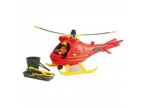 Dětský požární vrtulník s figurkou Požárník Sam