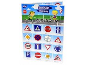 Dětské pexeso Dopravní značky