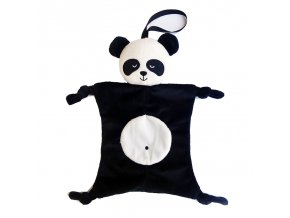 Newborn Blankie soothing towel Of Baby Toys Animal shape Infant Baby Gift Soft Soothe Towel Educational Black