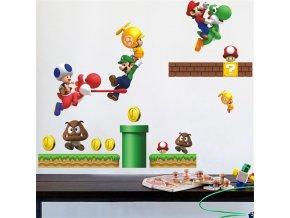 Samolepka Super Mario Bros