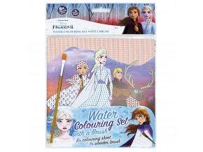 Vodové omalovánky se štětcem Frozen 2