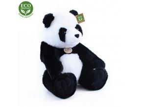 ECO-FRIENDLY plyšáci - Panda sedící, 20 cm