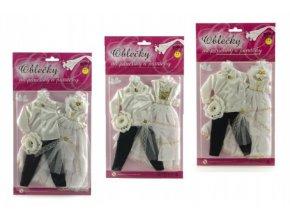 Svatební set pro Barbie a Kena 2 ks
