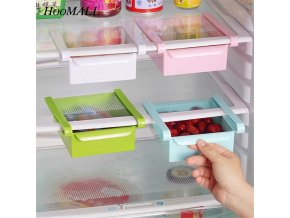 Hoomall Refrigerator Storage Box Kitchen Food Container Fresh Spacer Layer Storage Rack Pull out Drawer Fresh 13