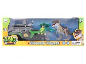 Sada s dinosaurem na baterie