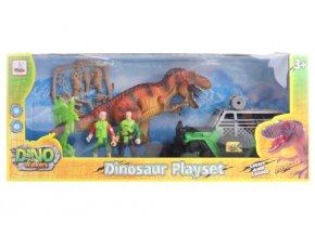 Sada s dinosaurem, na baterie