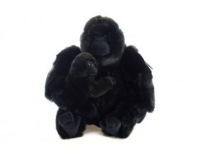 Plyšák Gorila s mládětem