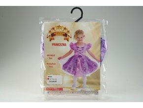 Dívčí kostým fialový Princezna (92-104 cm)