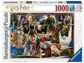 Ravensburger puzzle Harry Potter Voldemort 1000 dílků