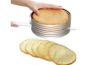 Stainless Steel Mousse Cake Layer Cut Tools Cake Slicer Device Mold Bakeware Cooking Cake RingTools Metal 33