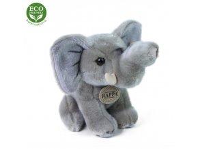 ECO-FRIENDLY plyšáci - Slon sedící, 18 cm