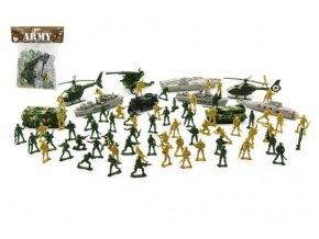 Army sada vojáčků s doplňky