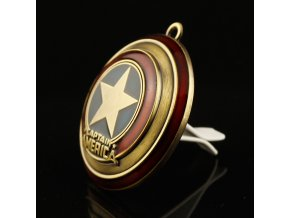 2018 New Iron Man Captain America shield Car outlet perfume original auto perfumes Air Freshener Car XS002Shield Cinnamon