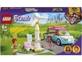 LEGO FRIENDS Olivia a její elektromobil