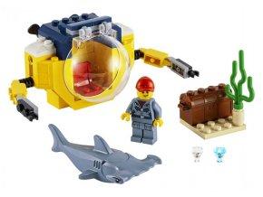 LEGO CITY Oceánská mini ponorka