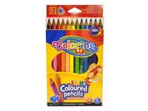 Trojhranné pastelky Colorino, 12 ks
