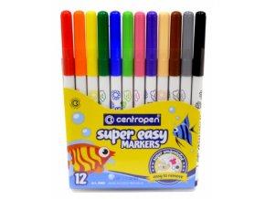 Fixy Super Easy etue, 12 barev