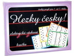 Hezky česky, elektrická výuková hračka