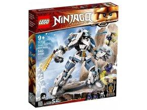 Zane a bitva s titánskými roboty 1