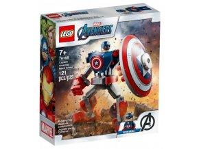 Captain America v obrněném robotu 1