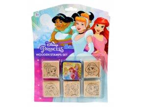 Dětská razítka 5+1, Disney Princezny