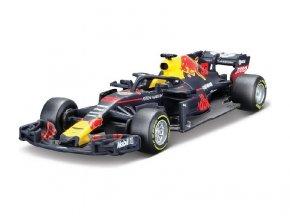 BBURAGO 1:43 ASTON MARTIN Red Bull Racing TAGHEUER ASSORT kovový model 13 cm